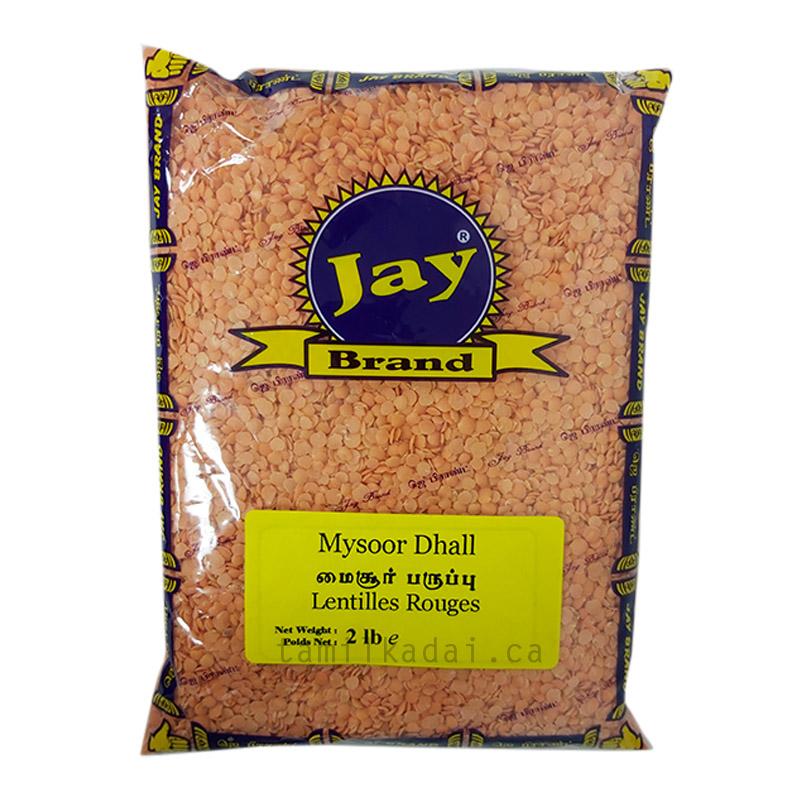 Mysoor Dhall - 2lb-Jay-மைசூர் பருப்பு